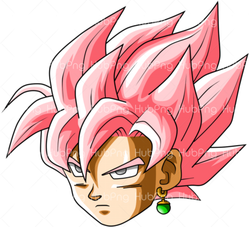 clipart goku head png Transparent Background Image for Free