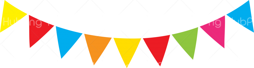colors banderines png hd Transparent Background Image for Free