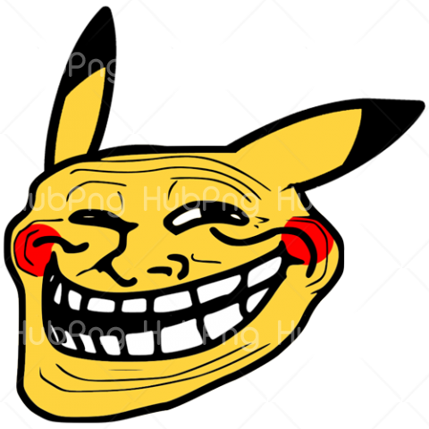 comic Trollface memes png Transparent Background Image for Free