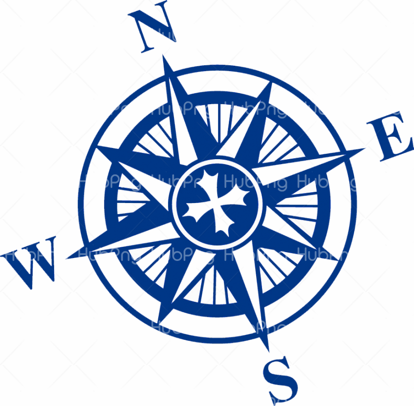 compass png blue drawing Transparent Background Image for Free
