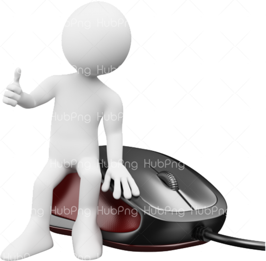 computer png mouse Transparent Background Image for Free