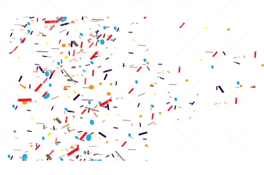 confetti png coloers Transparent Background Image for Free