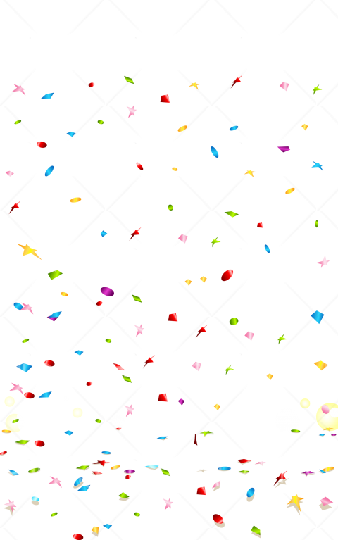 confetti png hd Transparent Background Image for Free