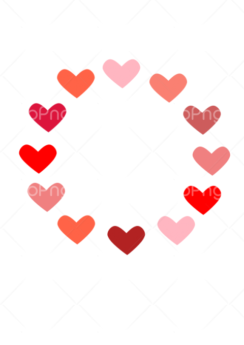 corazones png Transparent Background Image for Free