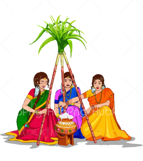 costume pongal png Transparent Background Image for Free