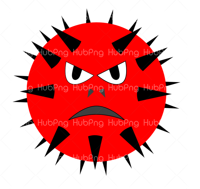 covid-19, coronavirus png vector red dangers Transparent Background Image for Free
