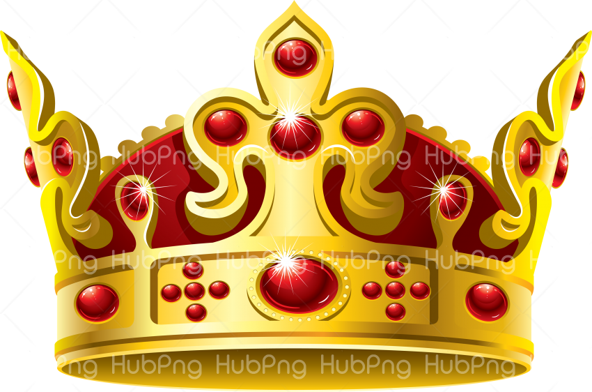 Crown PNG Gold Transparent Background Image for Free