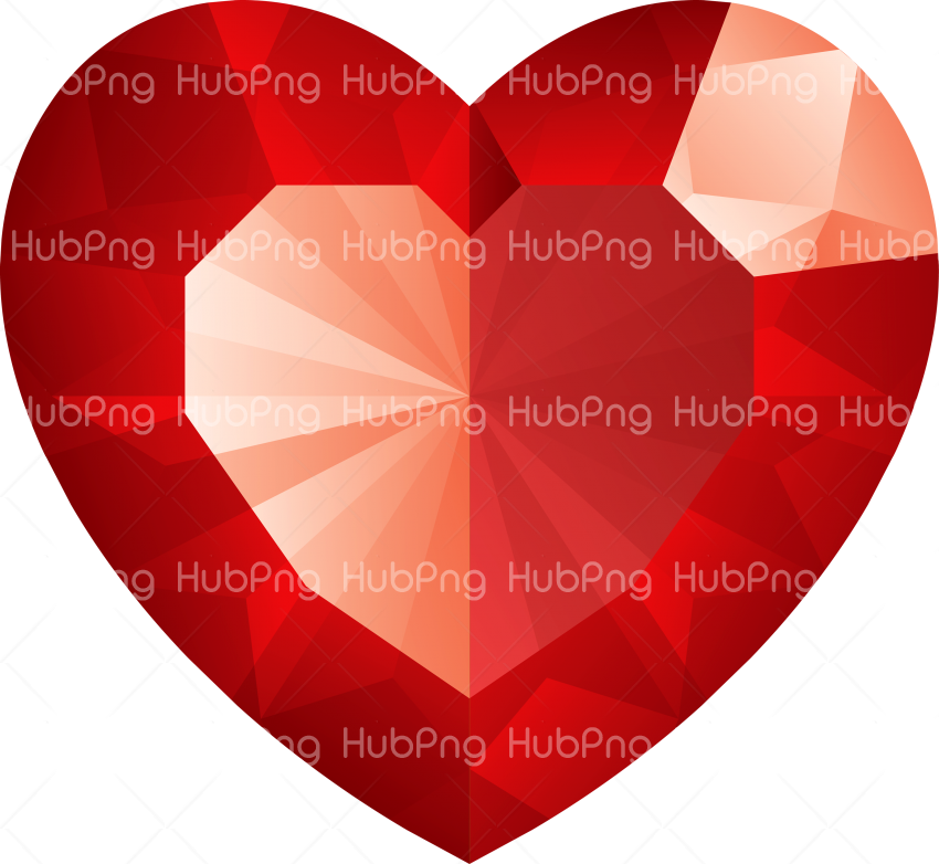 crystal heart png Transparent Background Image for Free