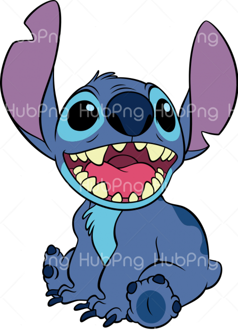 cute stitch png Transparent Background Image for Free