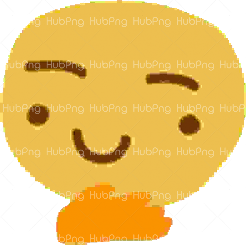 discord emojis thinking png hd Transparent Background Image for Free