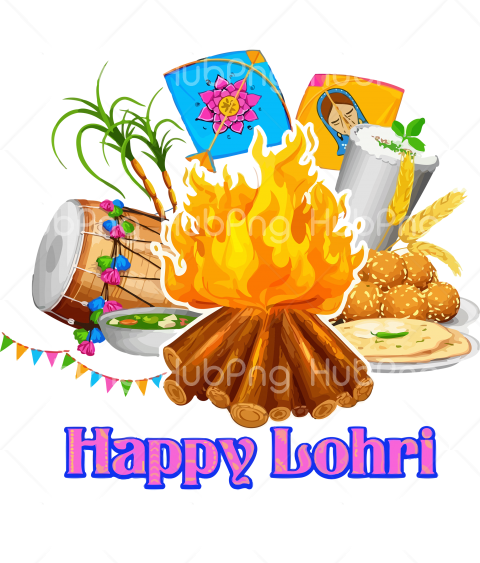 dish fire lohri png Transparent Background Image for Free