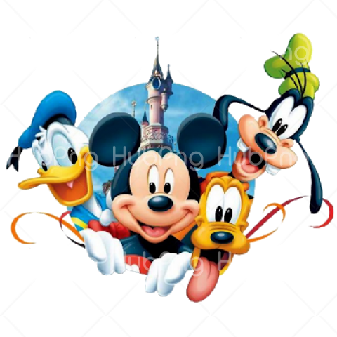 disney png characters vector Transparent Background Image for Free