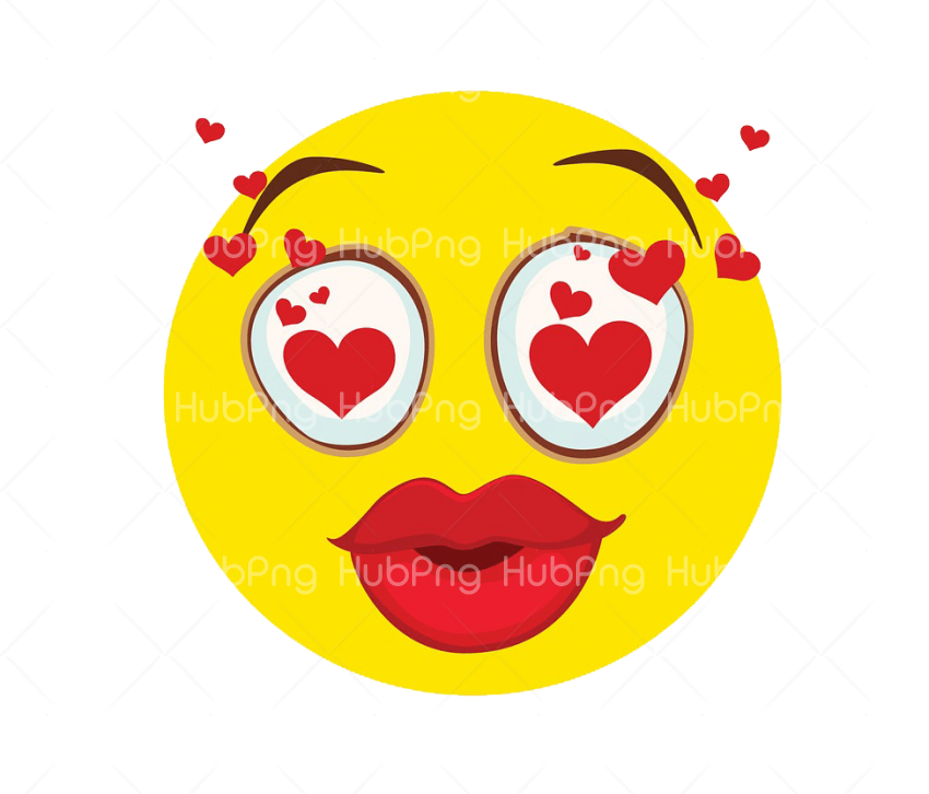 emoticon love Transparent Background Image for Free
