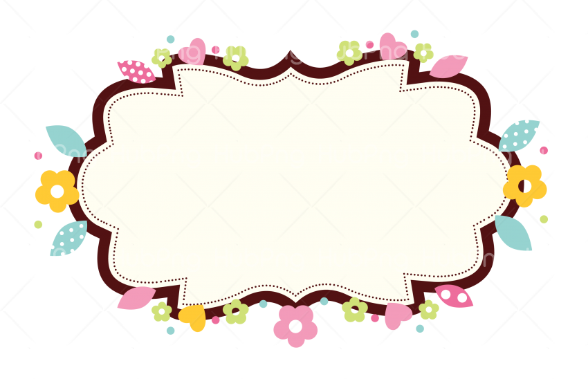 etiqueta png flowers Transparent Background Image for Free