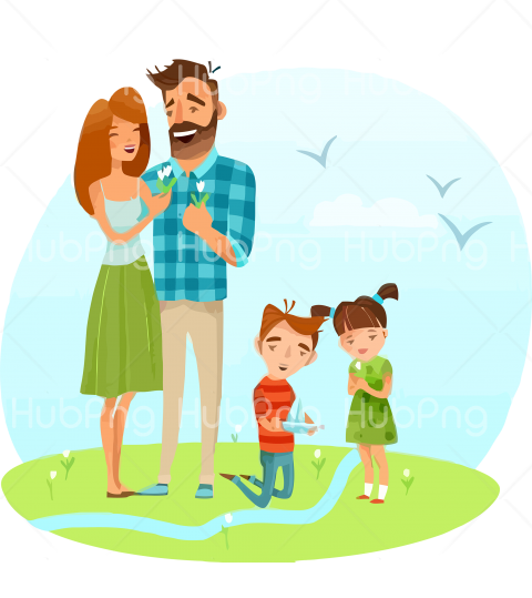 family day png clipart Transparent Background Image for Free
