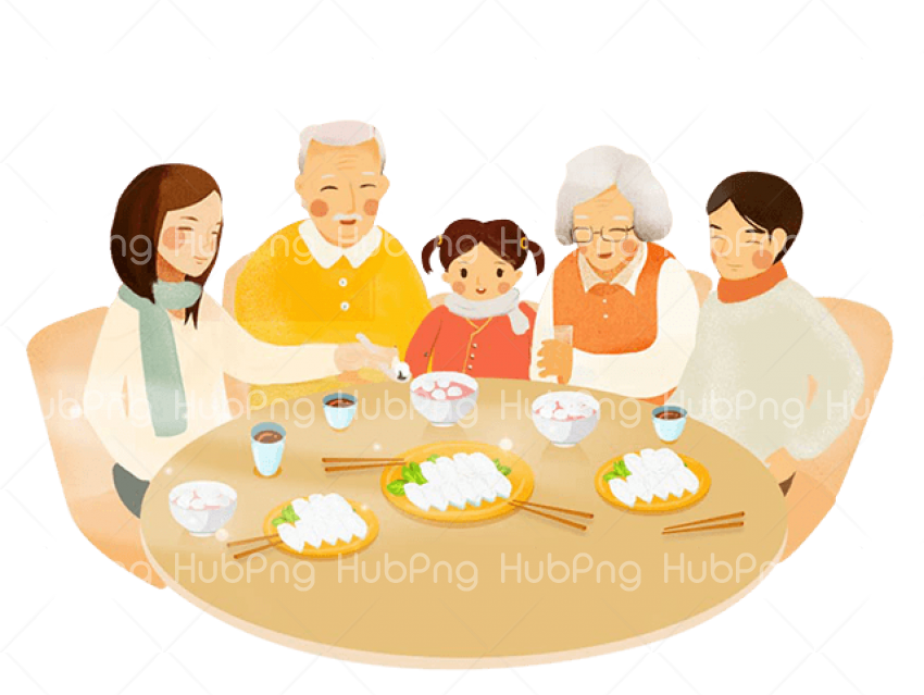 family day png eating Transparent Background Image for Free