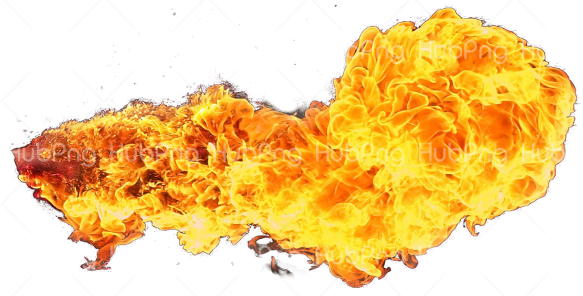 fire explosion png Transparent Background Image for Free