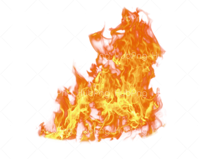 Fire flame PNG Transparent Background Image for Free