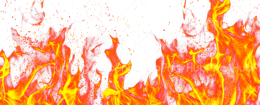 Fire flame transparent png Transparent Background Image for Free