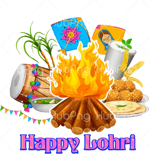 fire lohri png Transparent Background Image for Free