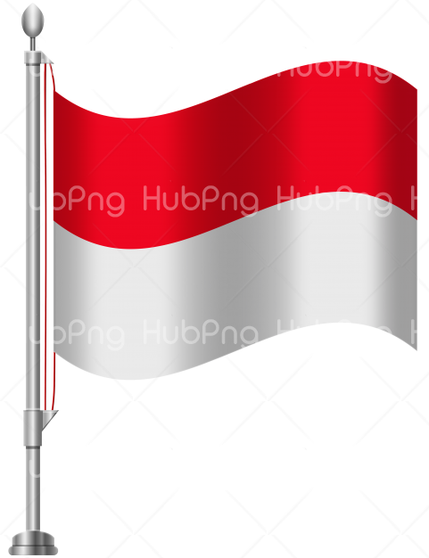flag bendera indonesia png hd Transparent Background Image for Free