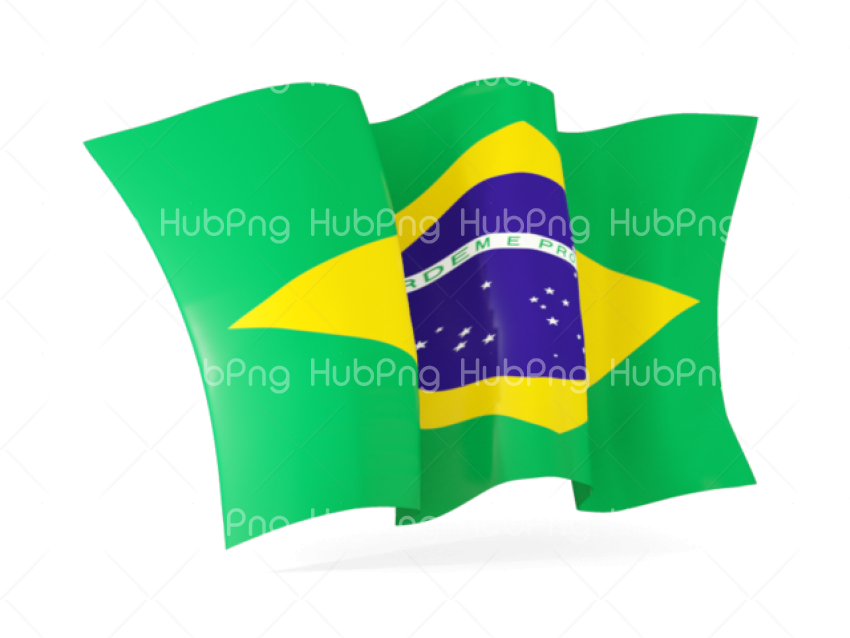 Flag Brazil PNG Transparent Background Image for Free