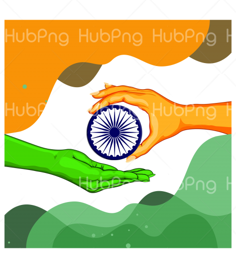 flag india republic day png Transparent Background Image for Free