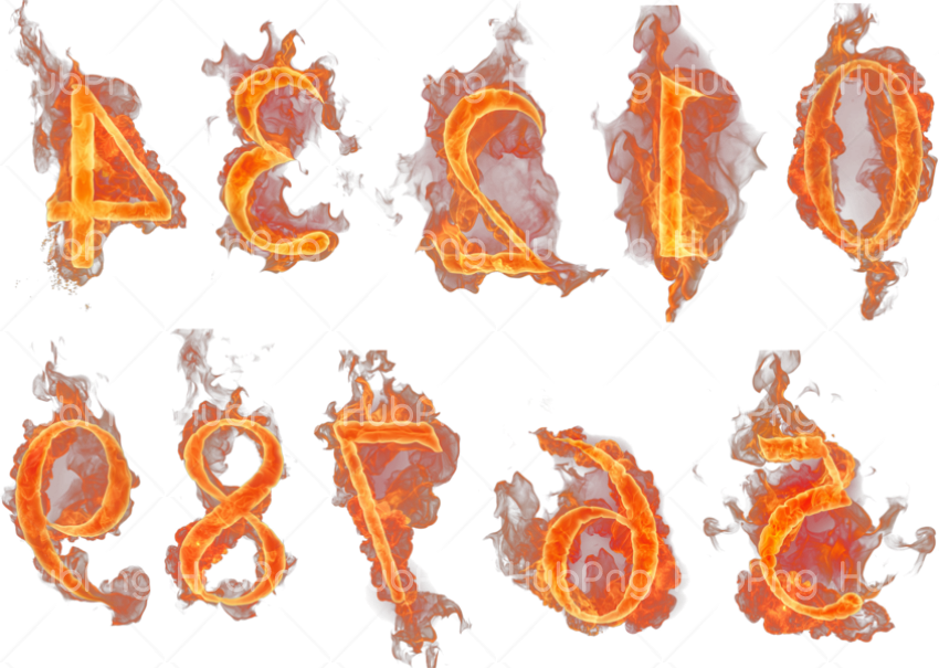 flames png hd fire efeect Transparent Background Image for Free
