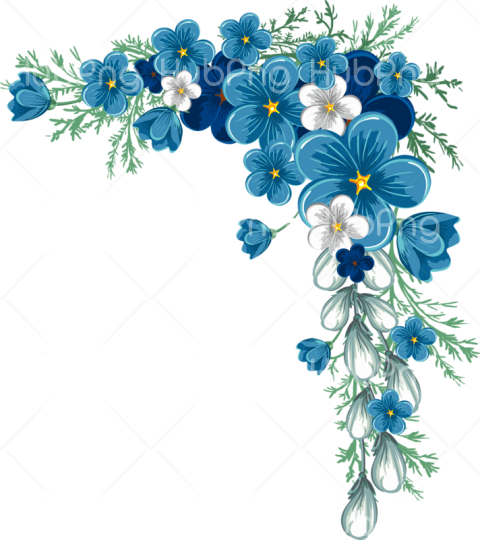 flower border clipart png Transparent Background Image for Free