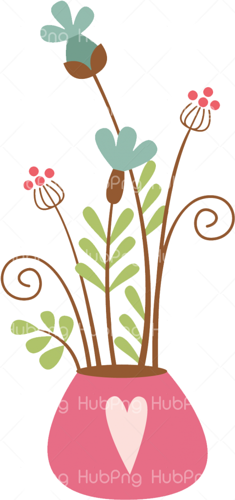 flowers vase png Transparent Background Image for Free