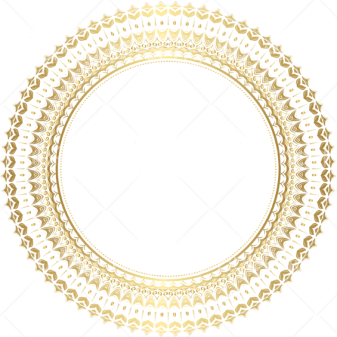 frame border png gold Transparent Background Image for Free