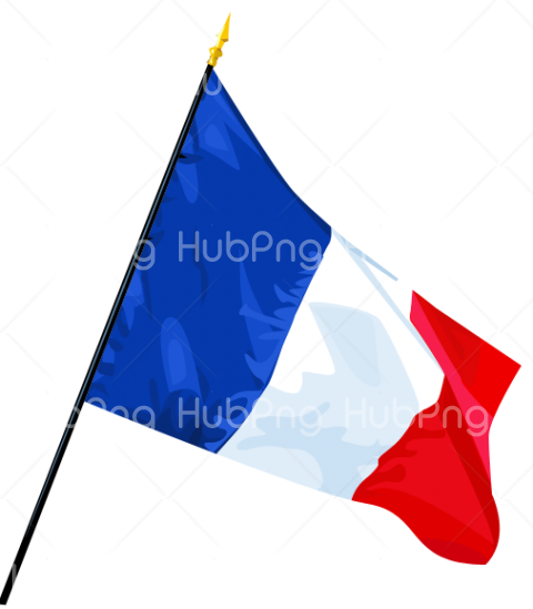 france flag clipart hd png Transparent Background Image for Free
