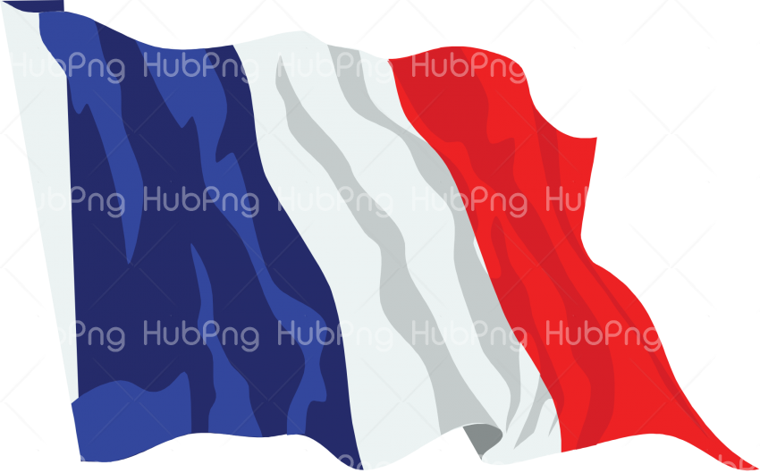 France Flag PNG Transparent Background Image for Free