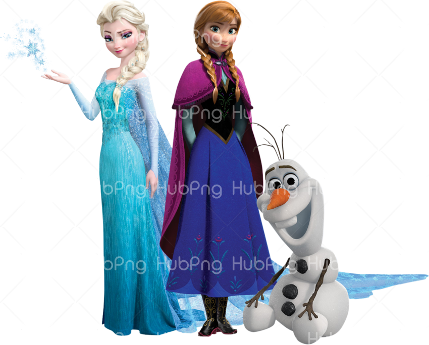 frozen png characters Transparent Background Image for Free