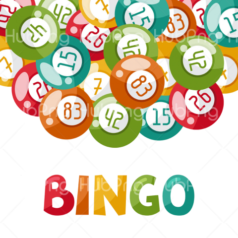 games bingo png Transparent Background Image for Free