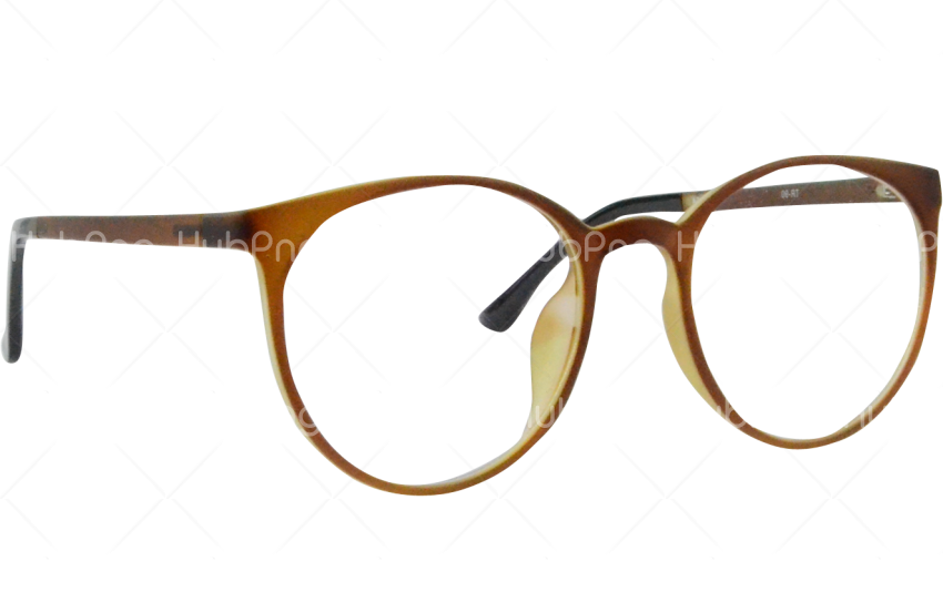 glasses png brown Transparent Background Image for Free