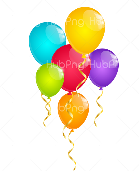 globos png clipart Transparent Background Image for Free