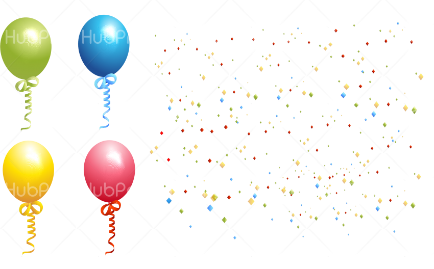 globos png vantigo Transparent Background Image for Free