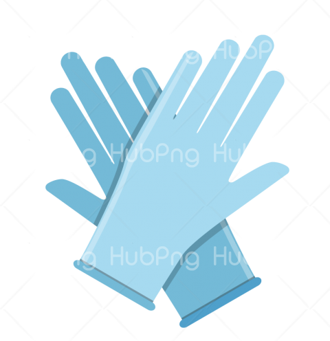 gloves blue coronavirus png Transparent Background Image for Free