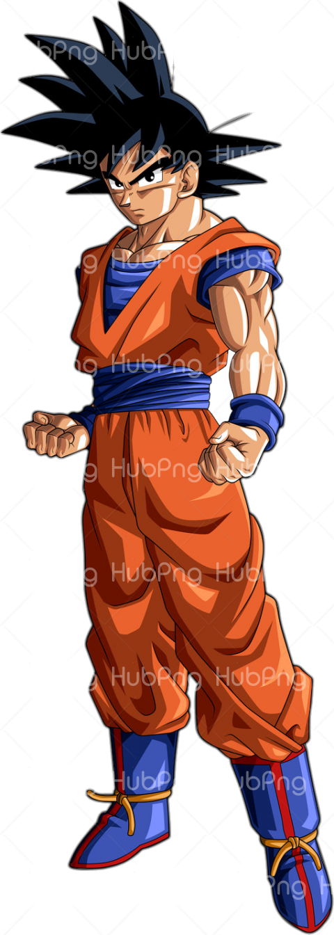 goku head png Transparent Background Image for Free