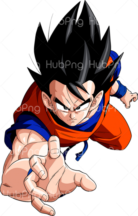 goku head png hd Transparent Background Image for Free