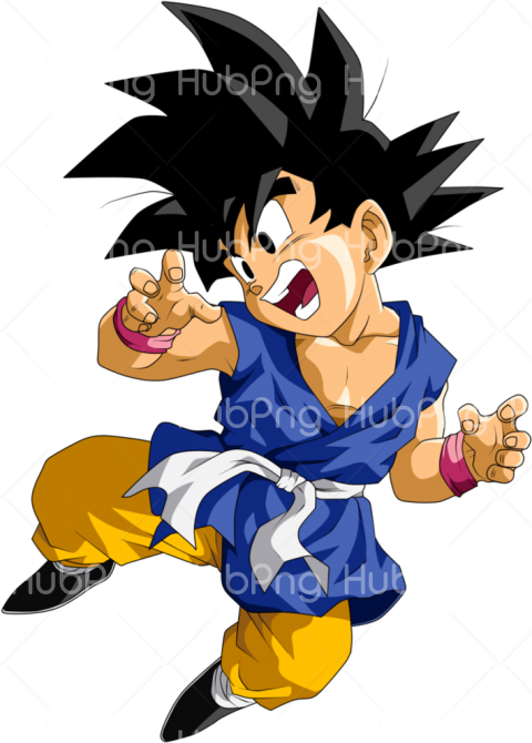 goku kid png Transparent Background Image for Free