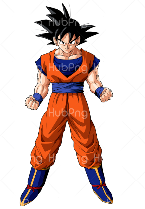 goku png Transparent Background Image for Free