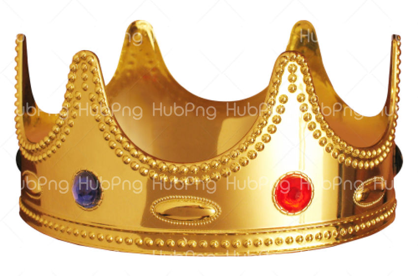 Gold crown png Transparent Background Image for Free