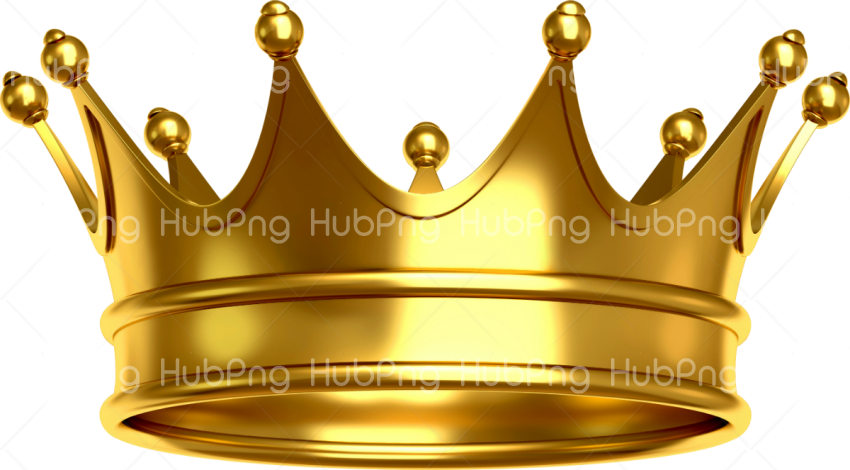 gold crown png hd Transparent Background Image for Free