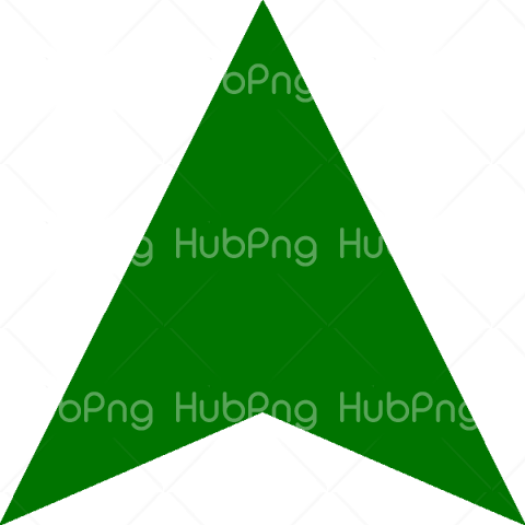 Green Arrow PNG Picture Transparent Background Image for Free