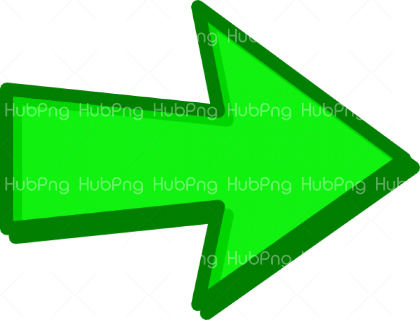 Green Arrow PNG Transparent Transparent Background Image for Free