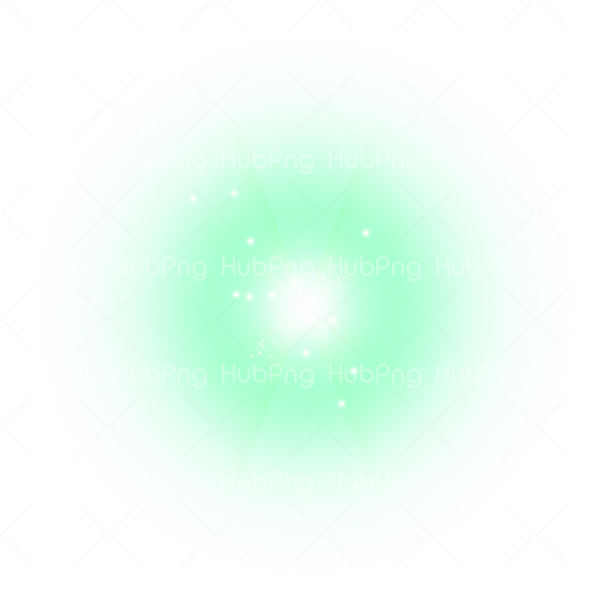green lens Flare effect png Transparent Background Image for Free