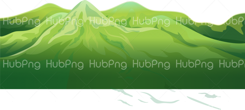 green mountain png clipart Transparent Background Image for Free
