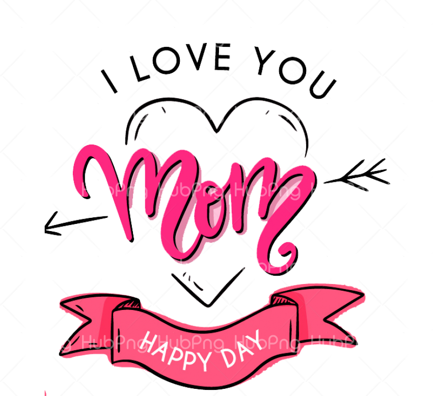 greeting design Happy Mothers day photo png Transparent Background Image for Free